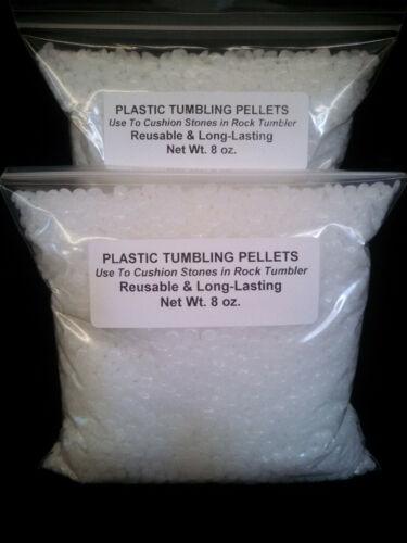 Rock Tumbling Plastic Pellets 1 Lb Pound Polishing Bead Fill Tumbler Grit Polish