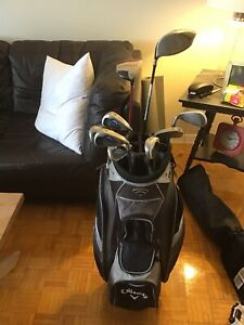 Men's Callaway golf set(right handed)