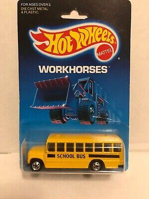 1988 Hot Wheels Workhorses School Bus
