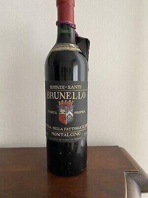 Biondi Santi Brunello Di Montalcino Riserva 1957