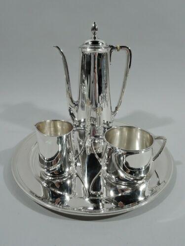 Tiffany Coffee Set Tray - 20218 20999 - Art Deco - American Sterling Silver