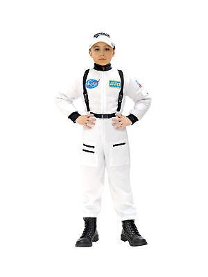 Kostüm für Kinder Overall Astronaut Weiß