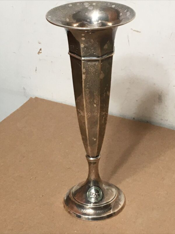 Antique Sterling Silver Trophy Vase 1914 Bryn Mawr Horse Show J E Caldwell #2