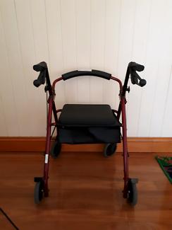 Wheeled Seat Walker