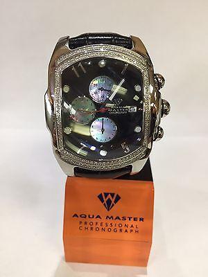 Invicta Aqua Master Jojo Lupah St Steel Watch 1.50ct diamonds