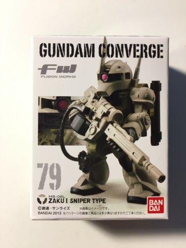Fw Gundam Converge 79 Zaku 1 Sniper Type US Seller