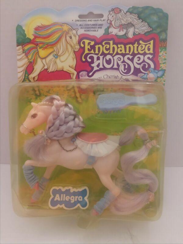 Vintage 1984 Marchon Enchanted Horses Allegra