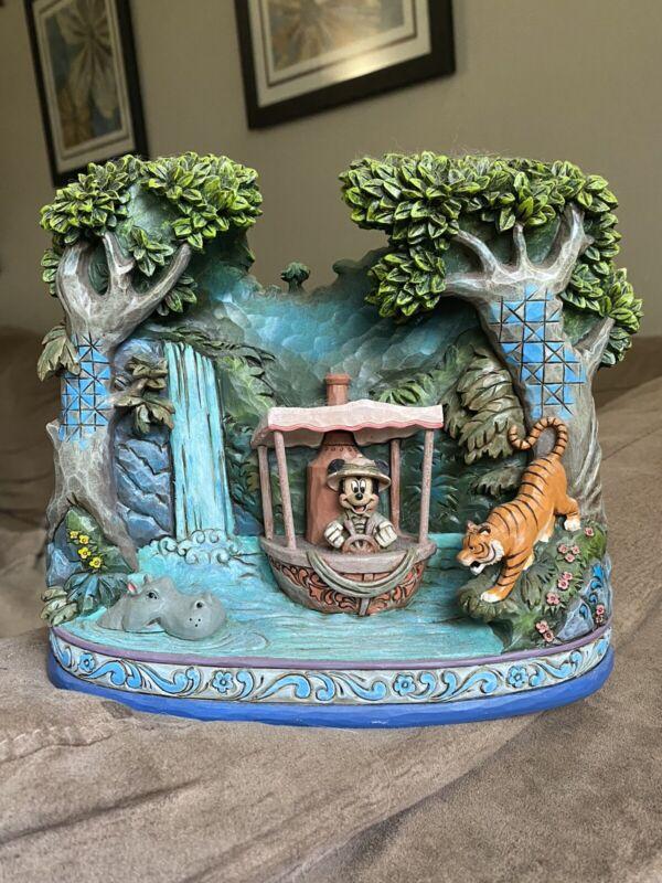 Ultra Rare! Walt Dinsney Showcase Collection Jim Shore Mickey's Jungle Cruise