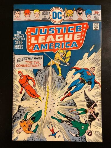 DC Justice League of America #126, 1975!