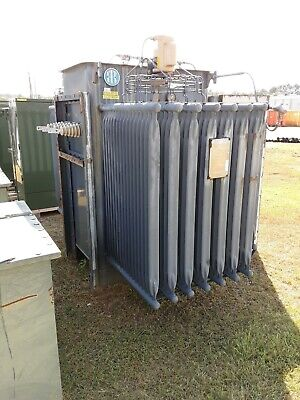 Ite 1500 Kva Substation Transformer Primary 4160 Delta Secondary 480y277
