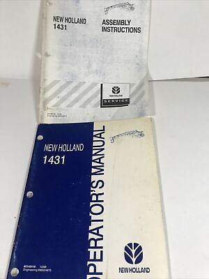 New Holland 1431 Mower Conditioner Owners Maintenance Manual