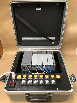 Allen Bradley Plc 1747-demo-7 Slc 500 Training Kit 1747-pic W 1747-c10 Cable