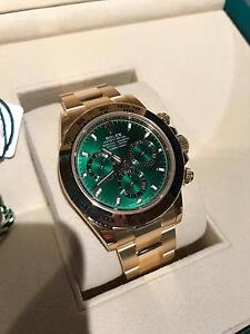 Rolex Daytona solid gold 60th anniversary green dial Norwood Norwood Area Preview