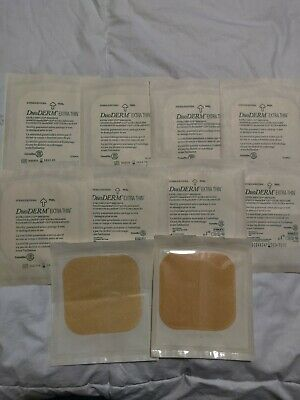 ConvaTec DuoDERM Extra Thin CGF Dressings 4 X 4 Inches 187955 10 Each