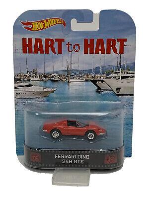 Hot Wheels Ferrari Dino 246 GTS Hart to Hart Retro Entertainment (531)