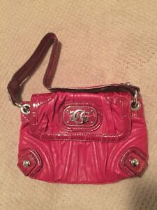 Guess red bag