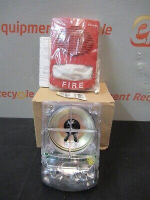 Simplex 4906-9151 Wall Mount Speaker Strobe Red Fire Alarm Light New