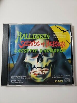 Terrifying Halloween Sounds (HALLOWEEN Sounds of Horror 45 minute OOP CD of Terrifying)