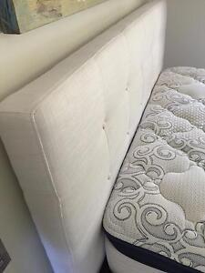 Coco Republic Queen size Bed frame & mattress Paddington Eastern Suburbs Preview