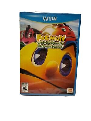 Pac-Man and the Ghostly Adventures (Wii U, 2013) New and Sealed