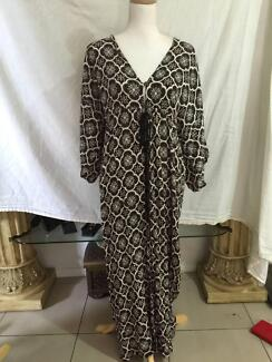 La Vie Boheme Boho Kaftan Dress 10 - 12 VGC