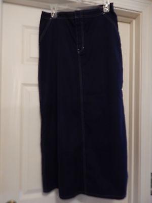 Gap Navy Blue Maxi Skirt (M)