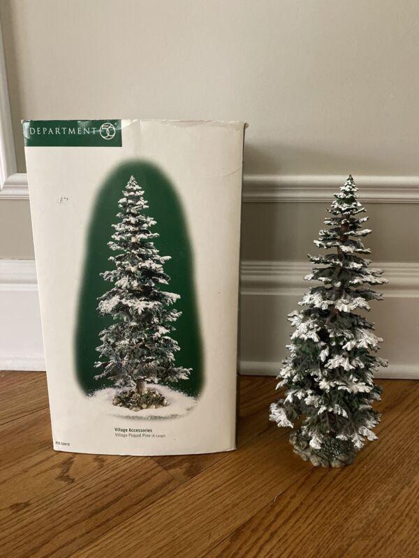 "Department 56 Village Accessories Pequot Pine Tree Extra Large 13"""