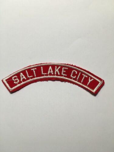 SALT LAKE CITY RED AND WHITE CITY STRIP