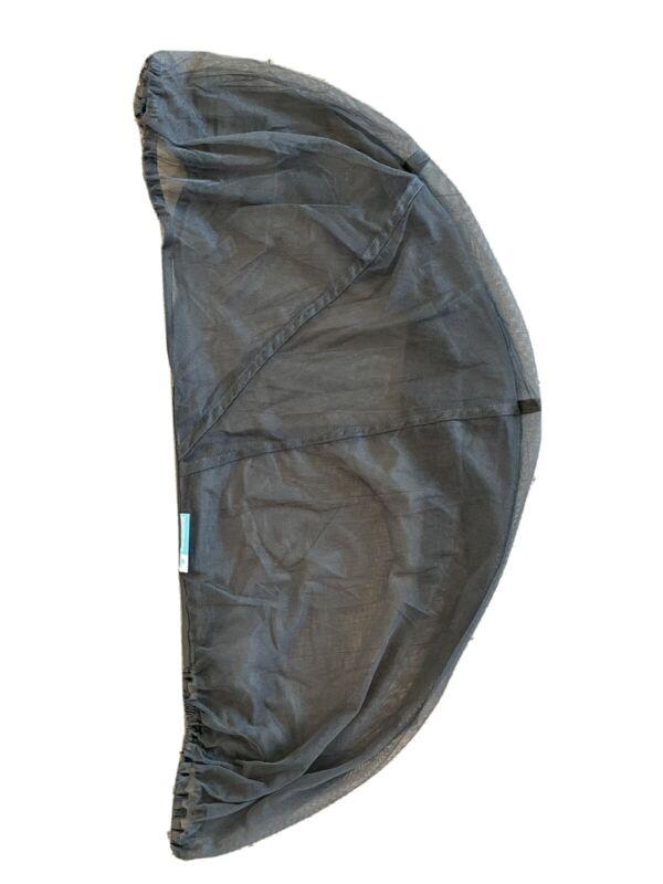 New UPPAbaby Stroller Mosquito Bug Net Mesh Cover Dark Grey Bassinet Baby