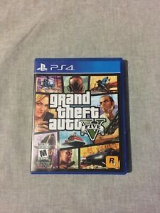 GTA FIVE Disk for PS4