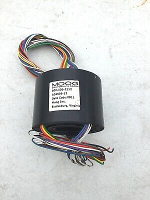 New No Box Moog Components Ac4598-12 Slip Coil Ring Assembly