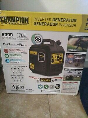 Champion Power Equipment 35004000 Watt Remote Start Portable Generator 46539