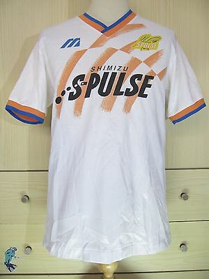 SHIMIZU S PULSE MIZUNO JAPAN J LEAGUE 1994 TRAIN FOOTBALL SHIRT SOCCER JERSEY L image