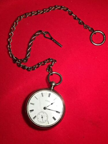 RARE ANTIQUE 1880 A.W. Co. WALTHAM P.S. BARTLETT 11 JEWELS 18S POCKET WATCH!!