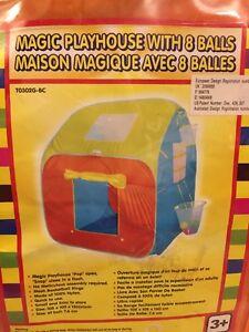 Snap up Toys Indoor Outdoor Children Play Tent