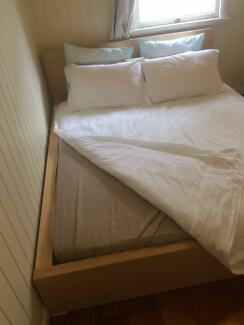 IKEA QUEEN BED Malm