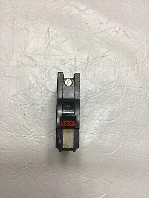 Fpe Na120 20 Amp 1 Pole Stab-lok Type Na Federal Pacific Breaker