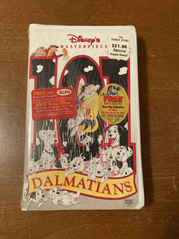 101 Dalmatians VHS Masterpiece Collection (15797) Walt Disney Classic 1999