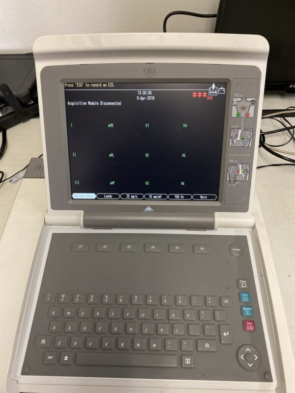 GE Mac 5000 ECG EKG Patient Monitor