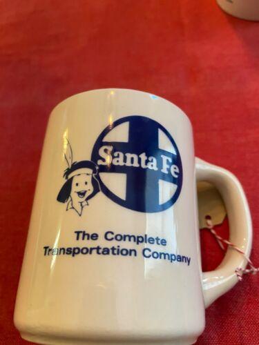 Vintage Santa Fe The Complete Transportation Company Railroad Mug