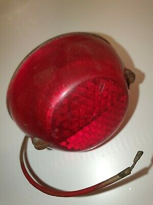 VINTAGE MILLER TYPE 39 REAR LIGHT BSA TRIUMPH NORTON PANTHER VELOCETTE VILLIERS  for sale  Shipping to Nigeria