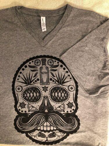 Altos Arandas, Jalisco Skull Tequila Logo XL T Shirt