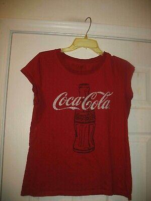 Retro Coca-Cola bottle Women's L/XL t-shirt Coke