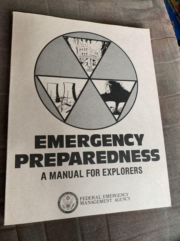 Emergency Preparedness : a Manual For Explorers - 1981