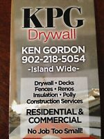 KPG  Construction     (902)218-5054