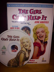 THE GIRL CAN'T HELP IT DVD,ROCKNROLL/ROCKABILLY 1950S/60S FILMS MUSIC
