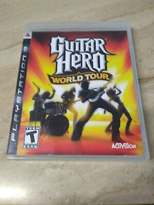 Guitar Hero World Tour PlayStation 3 for sale  Shipping to Nigeria
