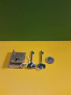 Solid brass  cut in Till/ Draw/ Cupboard Lock 2 13/16