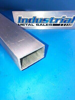 6063 T52 Aluminum Rectangle Tube 1-12 X 2-12 X 24-long X 18 Wall--new