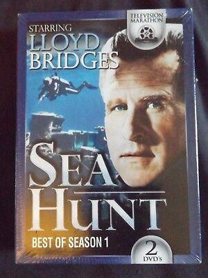 Lloyd Bridges SEA HUNT best of Season 1 2 disk DVD   New Sealed